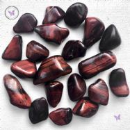 Red Tiger Eye Tumble Stone
